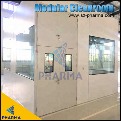 100 SQM Hard Wall Clean Room For Filling and Packing Lines