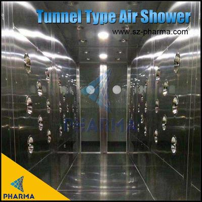 Tunnel Type Air Shower Of Clean Room Entrance
