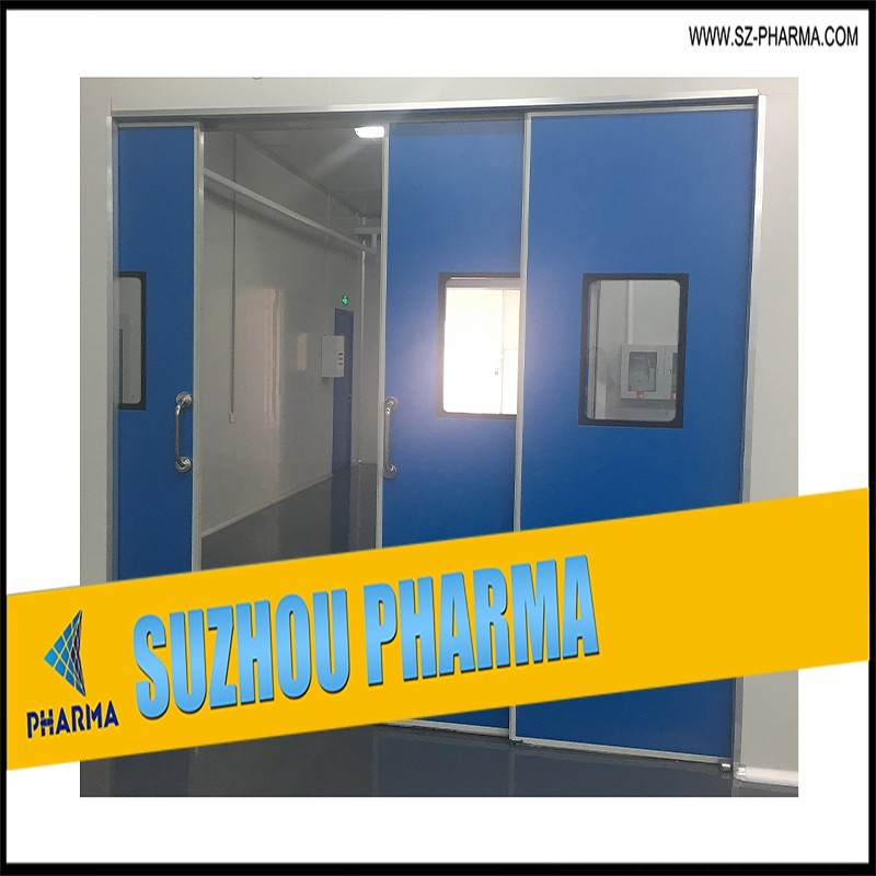Automatic Sliding Door With Sensor System